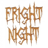 Fright Night - Halloween MDF Wood Words