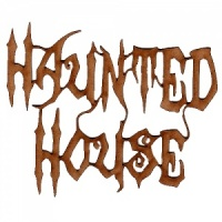 Haunted House - Halloween MDF Wood Words