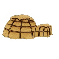 Igloo MDF Wood Shape