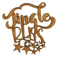 Jingle Bells - Decorative MDF Wood Words