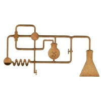 Chemistry Laboratory Apparatus  - MDF Wood Shape 02