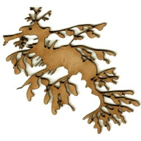 Leafy Sea Dragon MDF Wood Shape