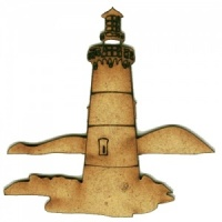 Lighthouse MDF Wood Shape Style 7