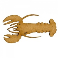 Lobster MDF Wood Shape Style 1