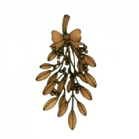 Mistletoe Sprig - MDF Wood Shape