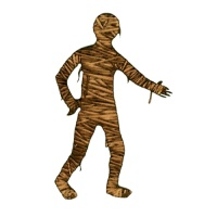 Staggering Mummy MDF Wood Shape