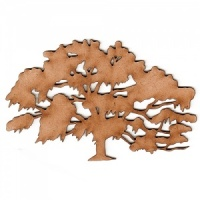 Oak Tree MDF Wood Shape - Style 1