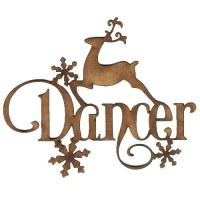 Dancer - Decorative MDF Wood Words