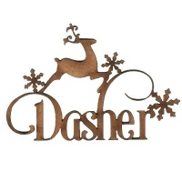 Dasher - Decorative MDF Wood Words