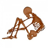 Skeleton MDF Wood Shape Style 3