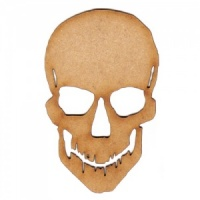 Skull MDF Wood Shape