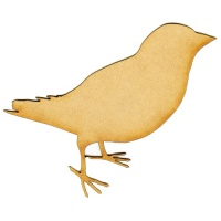 Sparrow MDF Wood Bird Shape