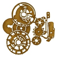 Steampunk Mechanical Clockworks Motif Style 21