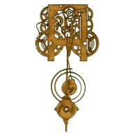 Steampunk Mechanical Clockworks Motif Style 27