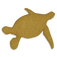 Greenback Sea Turtle - MDF Wood Shape