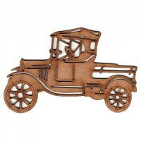 Vintage Car MDF Wood Shape Style 5