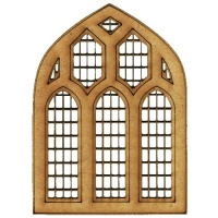 Church Window - MDF Wood Shape