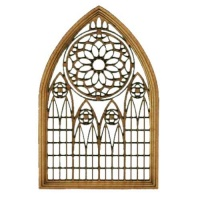 Cathedral Window - MDF Wood Shape