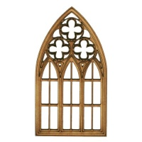 Stone Mullion Window - MDF Wood Shape