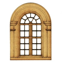 Russian Revival Style Window - MDF Wood Shape