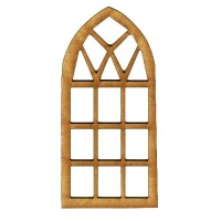 Arched Window - MDF Wood Shape