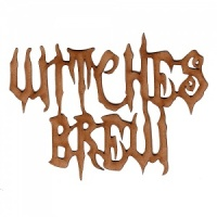 Witches Brew - Halloween MDF Wood Words