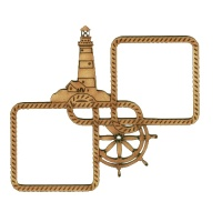 Nautical Multi Frame - Lighthouse