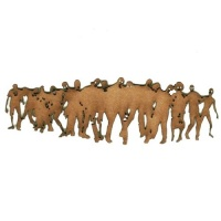 Zombie Horde - MDF Wood Shape